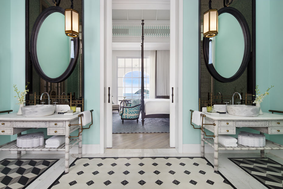 phong tam  Turquoise Suites