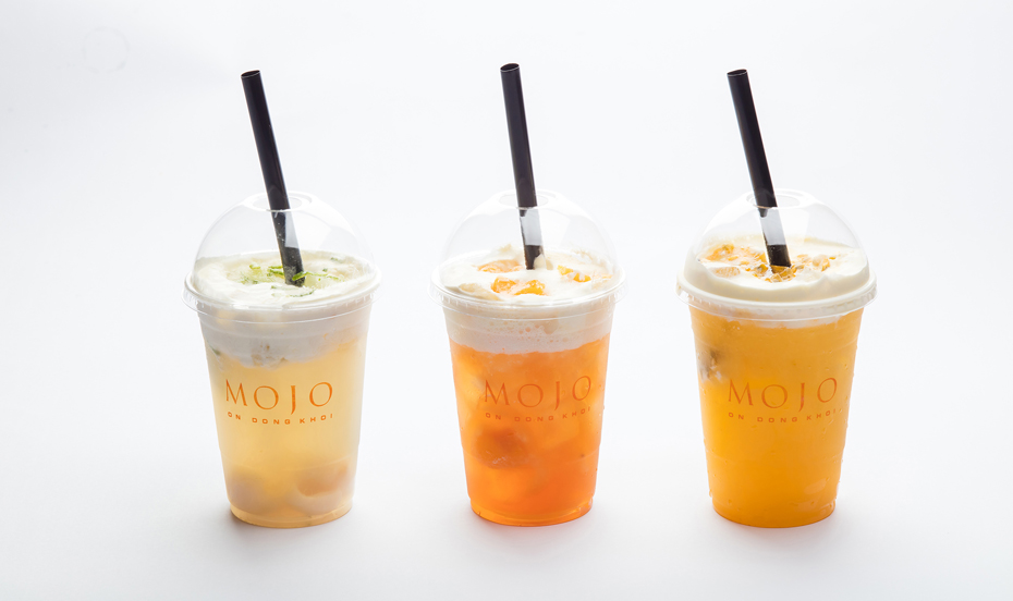 Sheraton Saigon_Mojo_Machiato tea drink
