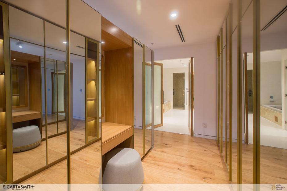 The Peak Penthouse_2701_Masterbed walk in closet, bathroom, sauna