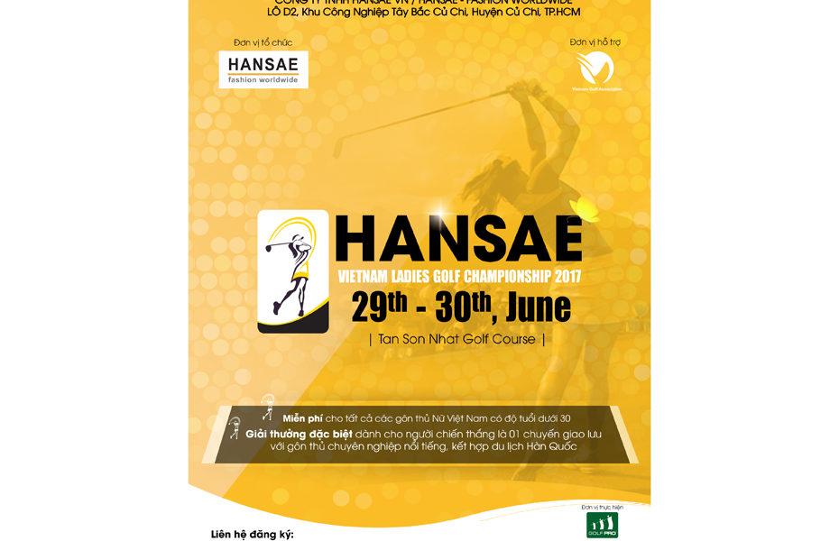Poster Hansae golf today
