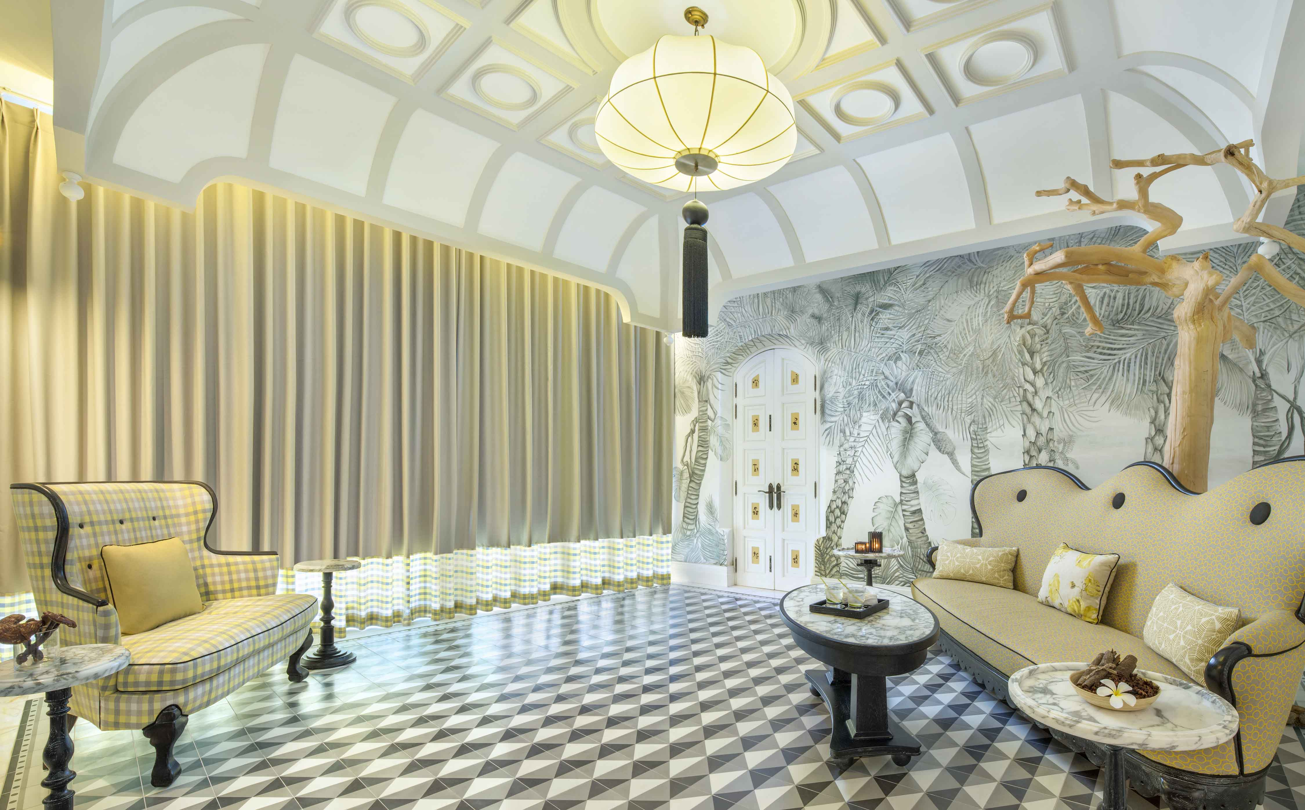 Chanterelle - Spa by JW_VIP Suite Welcome Area
