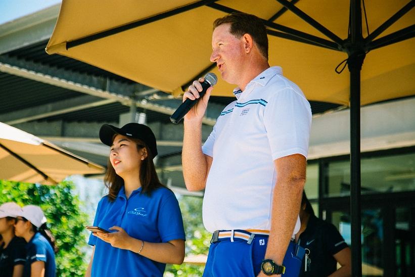Golf thủ chuyên nghiệp Darren Chapman